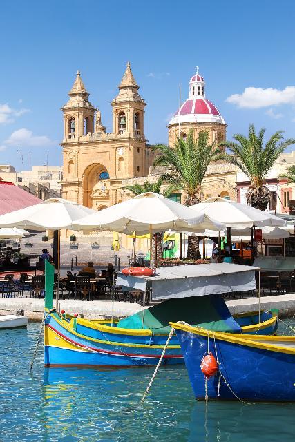 Málta szépségei